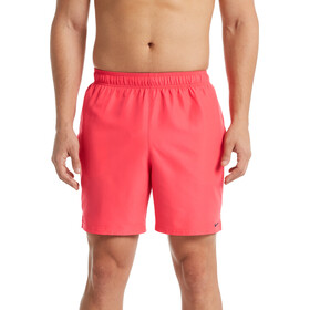 "Nike Swim Solid Lap 7"" Shorts de Volley Hombre, ember glow"